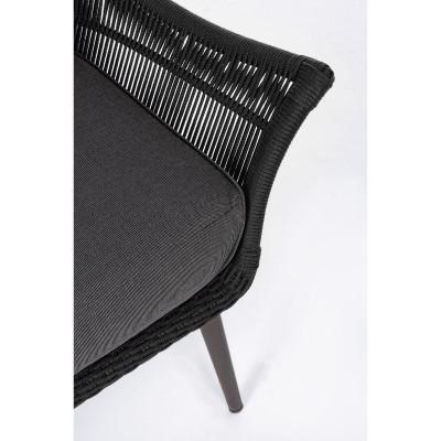 CC Tablita lounge chair, in aluminum,