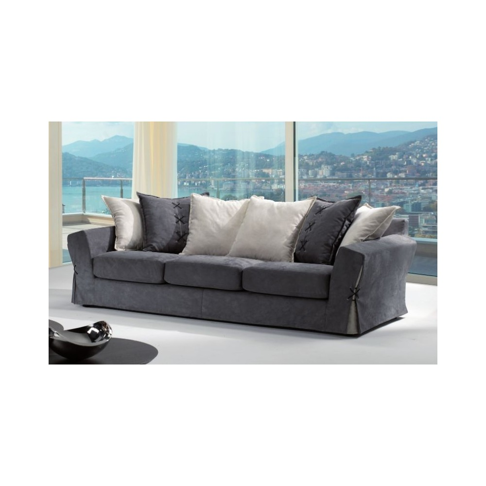 Parker 3 seater sofa, in removable