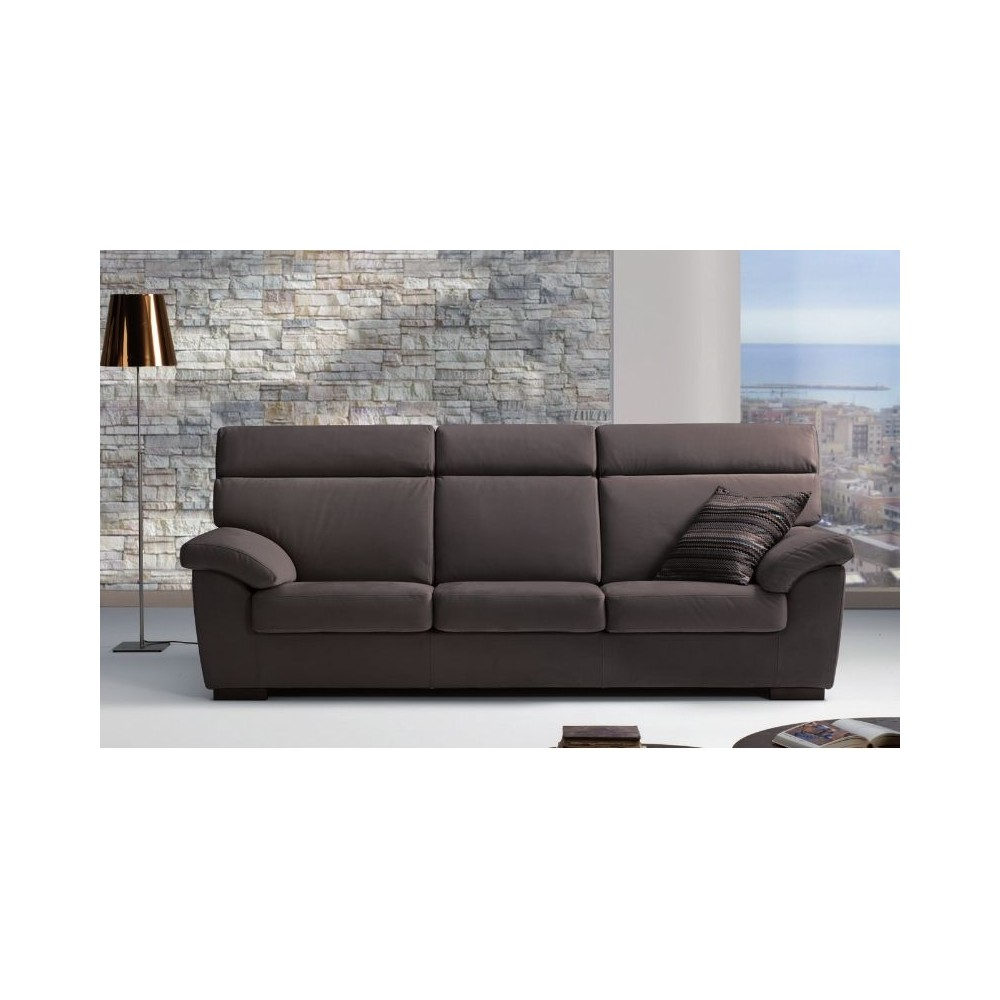 Sondrio sofa bed with solid fir wood