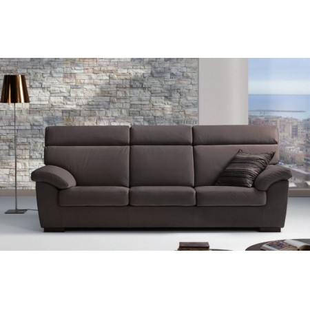 Sondrio sofa bed with solid fir wood structure