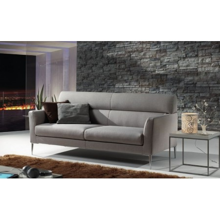 Positano sofa structure in solid fir wood, removable cover