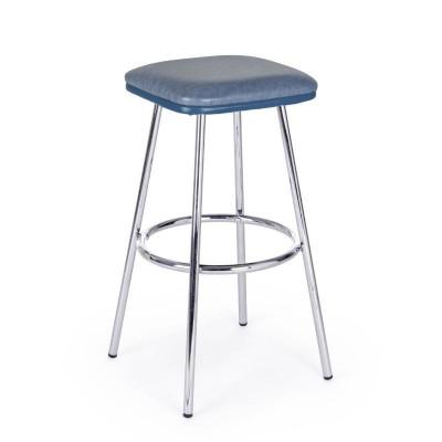 Agnes bar stool in blue...