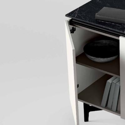 Madia moderna Groove con specchiera