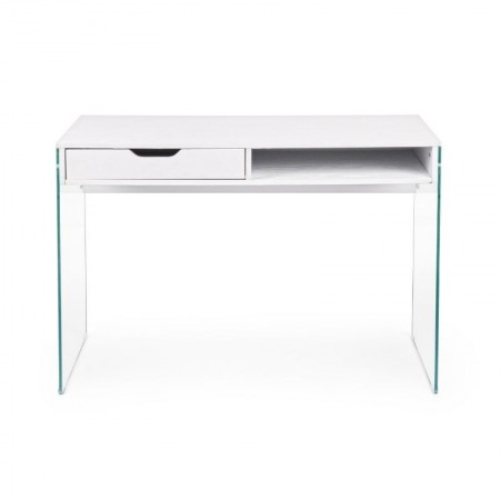 Armos desk with 1 drawer, white color
