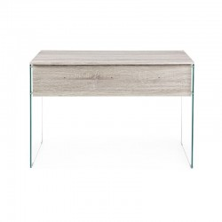 Armos desk with 1 drawer, natural color