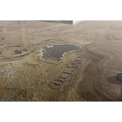 Bureau Atlantide 130X65, plateau verre