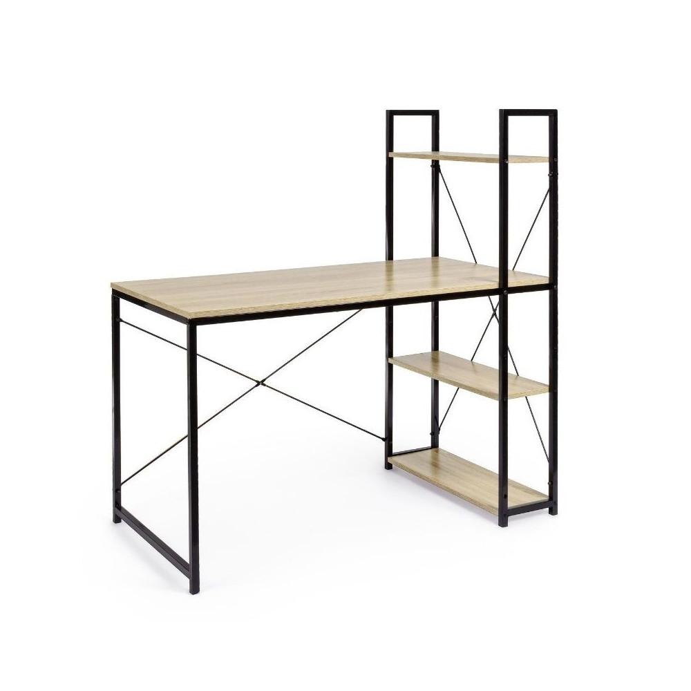 Elettra desk with open compartments,