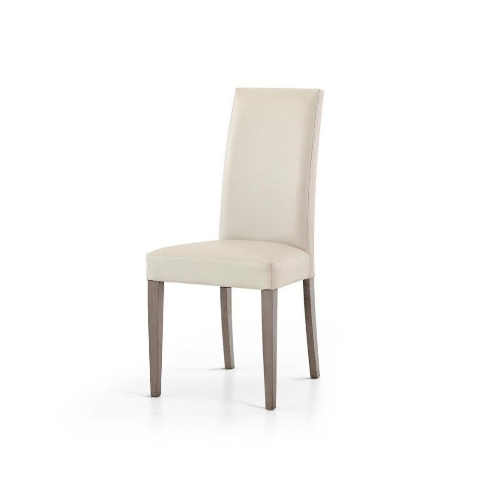 Upholstered Gustavo chair, in