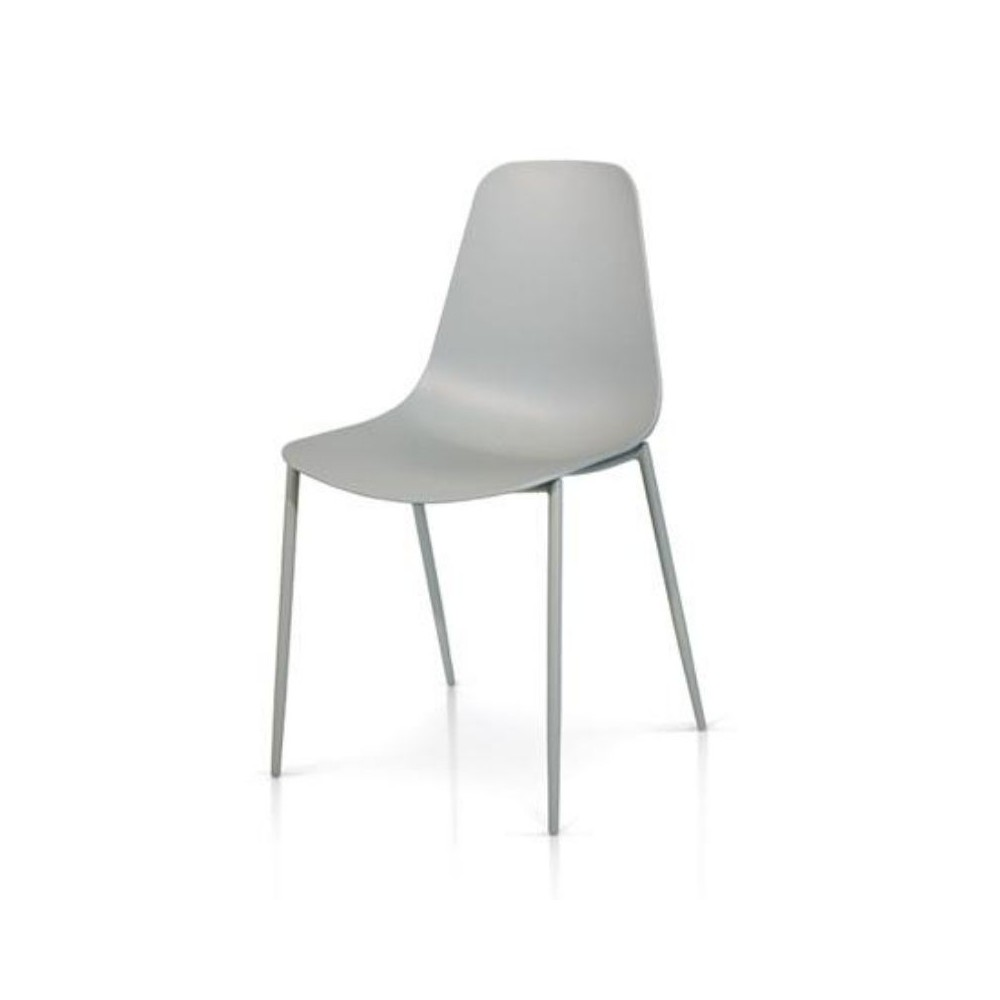 Desire chair in polypropylene, metal