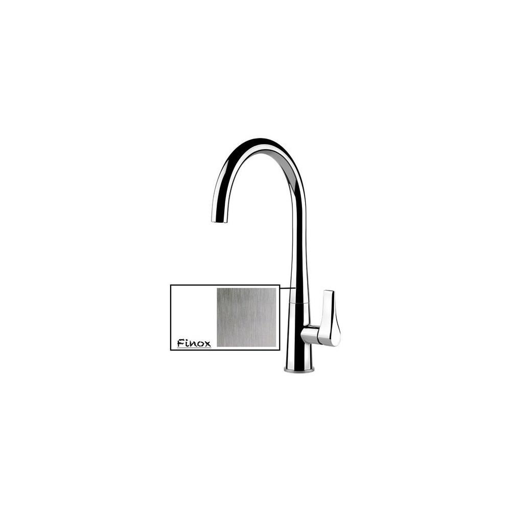 Sink mixer Gessi Proton satin stainless