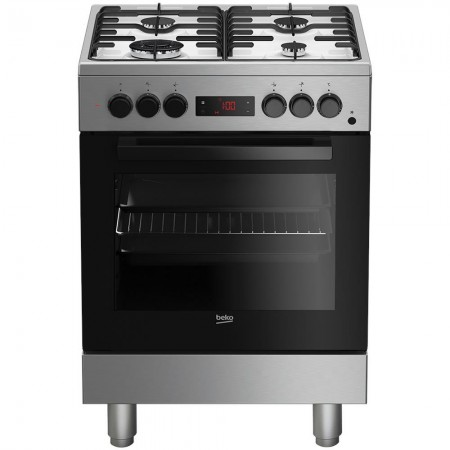 Beko FSE62110DXF Hob Stainless steel Gas A