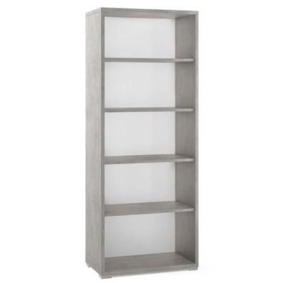 Doublè collection, Db351k open cabinet, melamine material, 4 shelves, H 82 cm