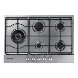 Samsung NA75M3130AS Black, Stainless steel Built-in Gas 5 zone (s)