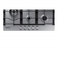 Samsung NA75J3030AS Black, Stainless steel Built-in Gas 5 zone (s)