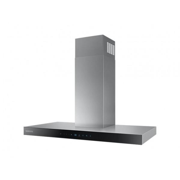 Samsung NK36N5703BS 722 m³/h Cappa aspirante a parete Nero, Acciaio inossidabile A