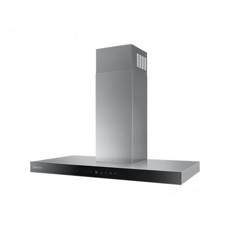 Samsung NK36N5703BS 722 m³ / h Wall-mounted extractor hood Black, Stainless steel A