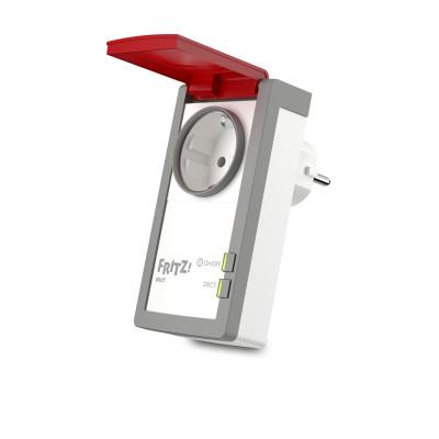 AVM FRITZ DECT 210 INTERNATIONAL smart socket Red, White 1,5 W
