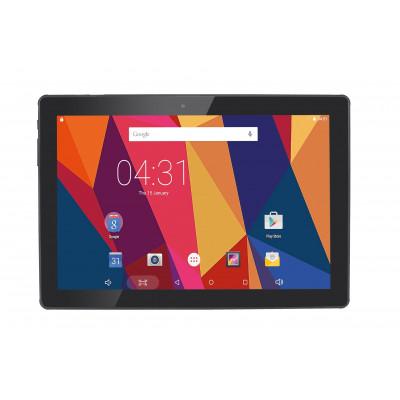 """Hannspree Hercules 2 25,6 cm (10.1"""") Mediatek 2 GB 16 GB Wi-Fi 4 (802.11n) Nero Android 7.0"""