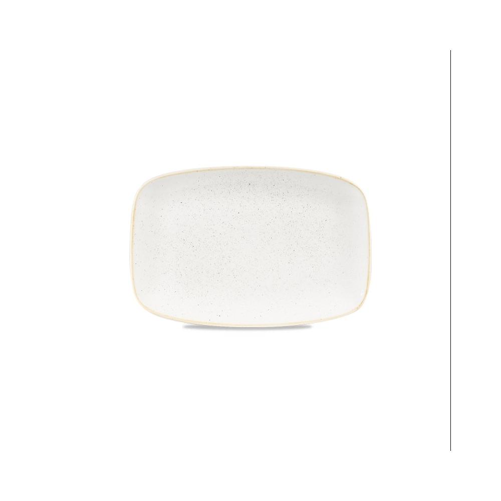Rectangular ivory plate 34.2 x 23 cm