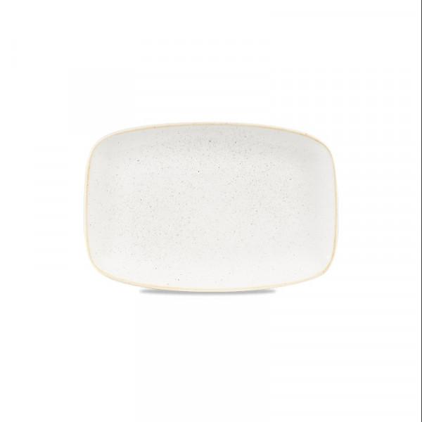 Piatto Avorio rettangolare 34,2 x 23 cm Stonecast