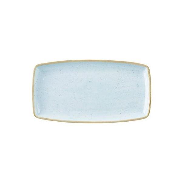 Piatto Azzurro rettangolare 35 x 18 cm Stonecast