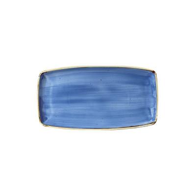 Blue rectangular plate 35 x...