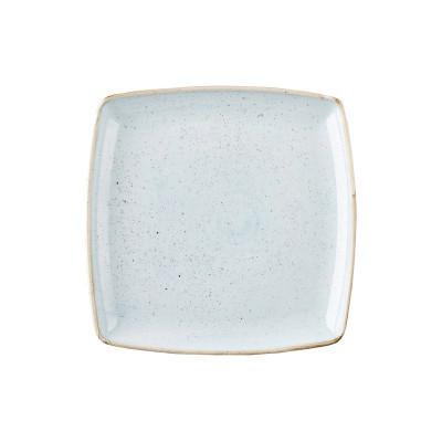 Blue square plate 26.8 cm...
