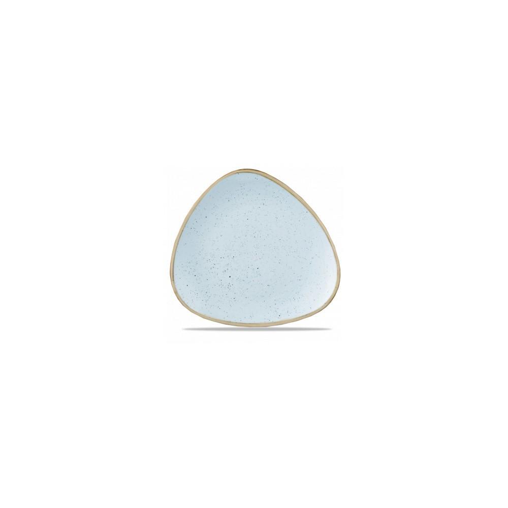 Piatto Azzurro triangolare 31 cm