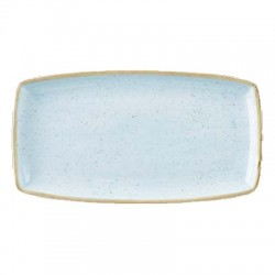 Blue rectangular plate 29 x...