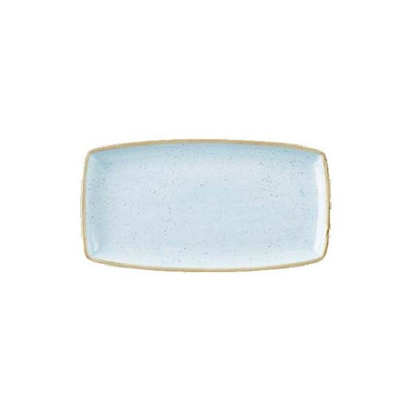 Piatto Azzurro rettangolare 29 x 15 cm Stonecast
