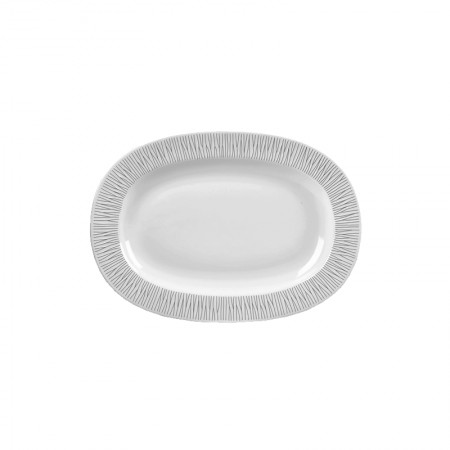 Oval Plate 33 cm Bamboo