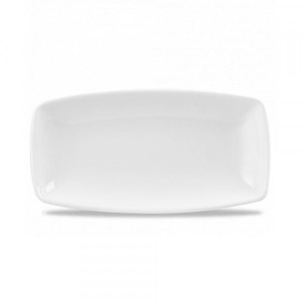 Rectangular plate 35 x 14 cm X Squared