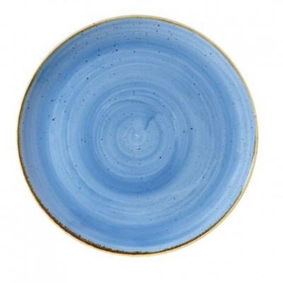 Assiette bleue coupe 32 cm...
