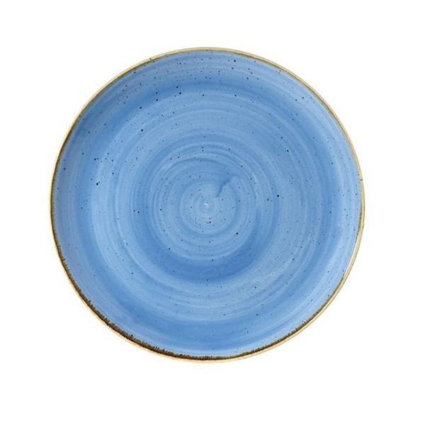 Blue plate coupe 32 cm Stonecast