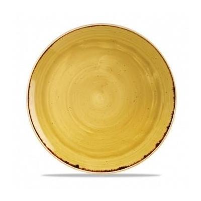 Assiette coupe jaune 32 cm...