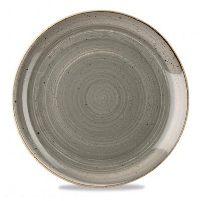 Assiette grise coupe 32 cm...