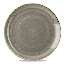 Gray plate coupe 32 cm...