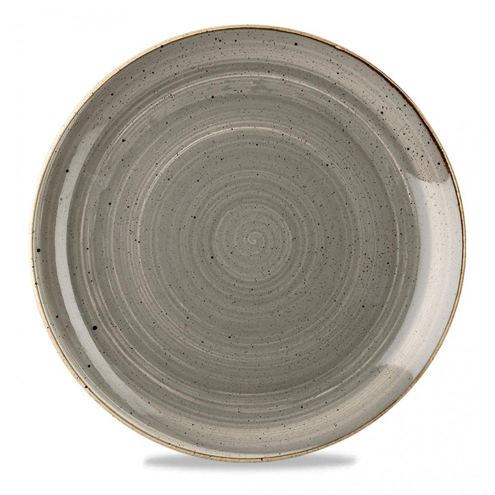 Piatto Grigio coupe 32 cm Stonecast