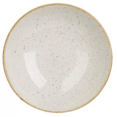 Ivory plate 31 cm deep...