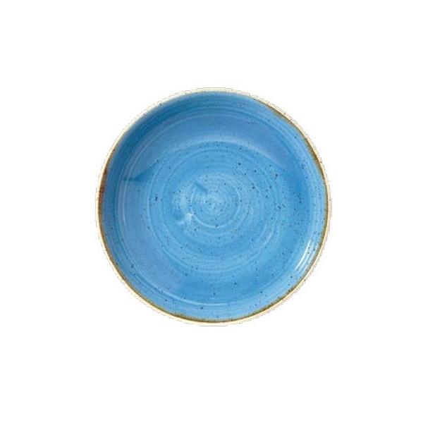 Deep Blue Plate 31 cm Stonecast