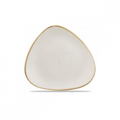 Triangular ivory plate 26...