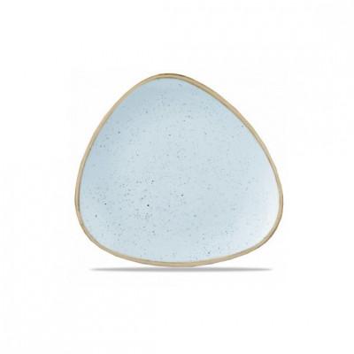 Triangular blue plate 26 cm...