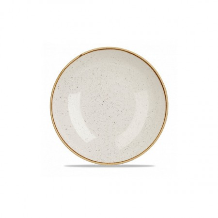 Ivory coupe plate 28.8 cm Stonecast
