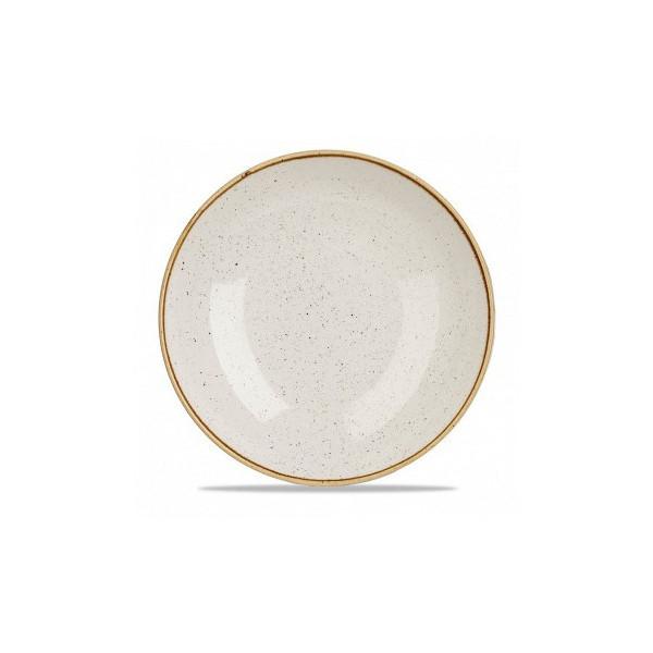 Piatto avorio coupe 28,8 cm Stonecast