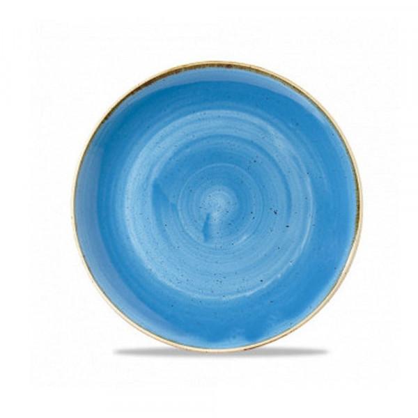 Piatto blu coupe 28,8 cm Stonecast