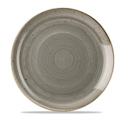 Gray coupe plate 28.8 cm...