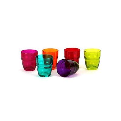 Bicchieri acqua colorati cl...