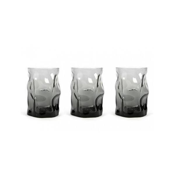 Bicchieri cl 30 Sorgente Onice confezione da 3 pezzi