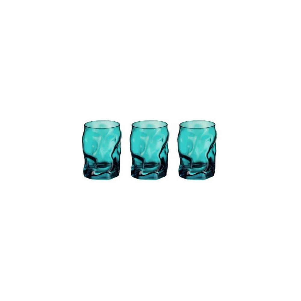 Glasses cl 30 Sorgente Azzurro 3 pieces