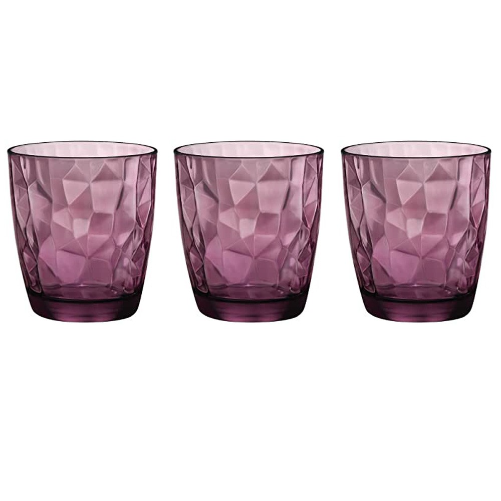 Bicchieri 30 cl Diamond Purple